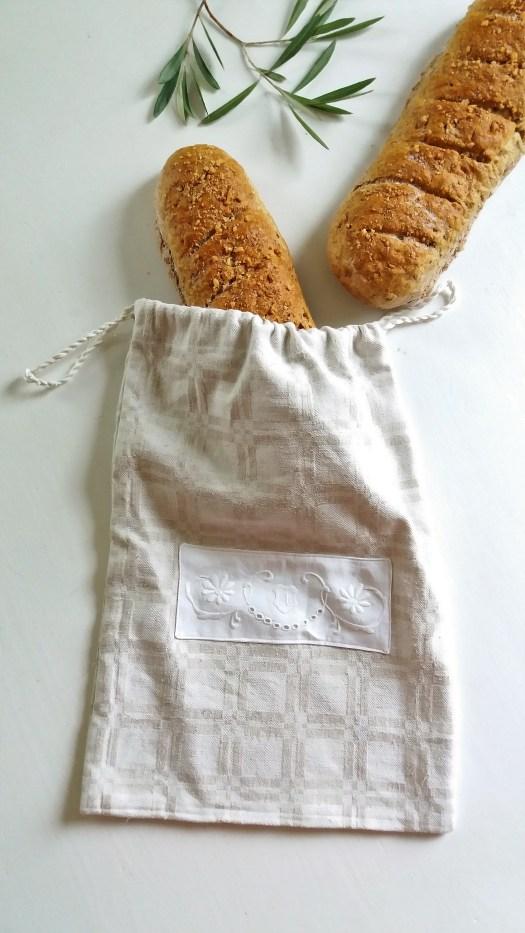 brødpose i lin