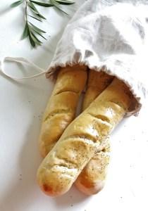brødpose av lin