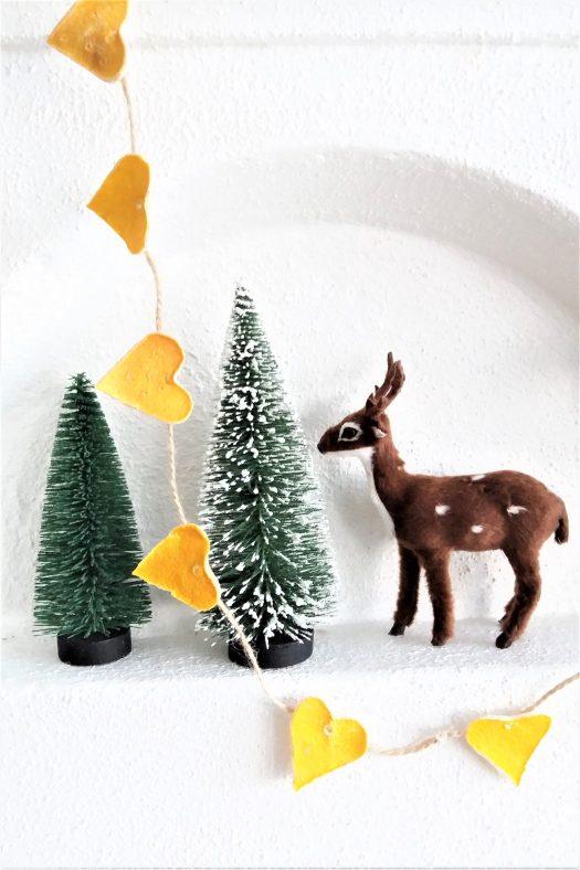 julepynt av sitronskall
