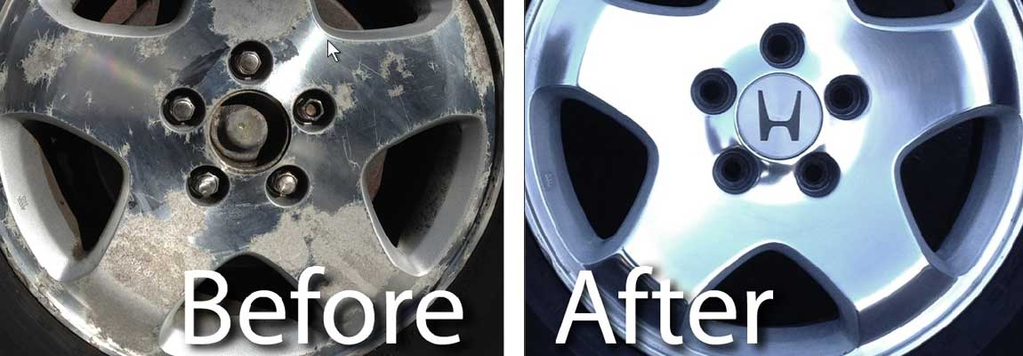 How To Remove Paint From Alloy Wheels Holes