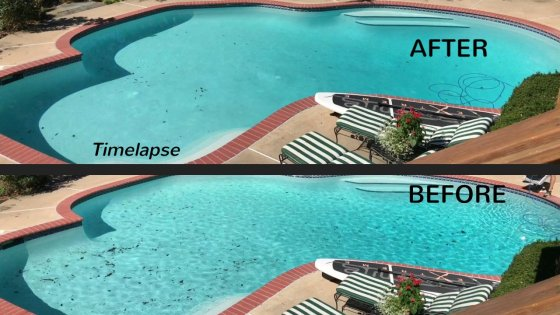 Thumbnail -- Best Pool Robots - BEFORE and AFTER