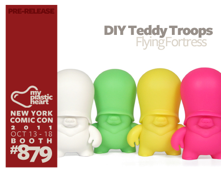 NYCC : DIY Teddy Troops Blind Box