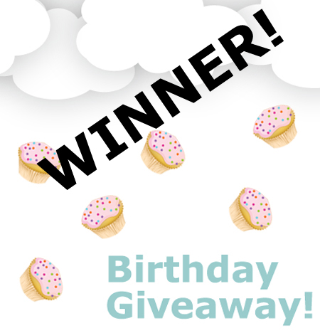 Winner of the Team Sweet Birthday Giveaway!