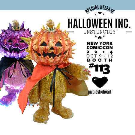 NYCC 2014 Release – Halloween Inc. Gold and Platinum King