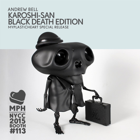 NYCC 2015 – Karoshi-San by Andrew Bell