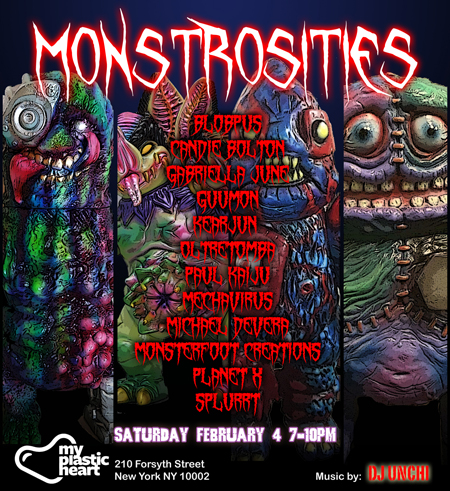 Monstrosities 2017 opens Feb 4th