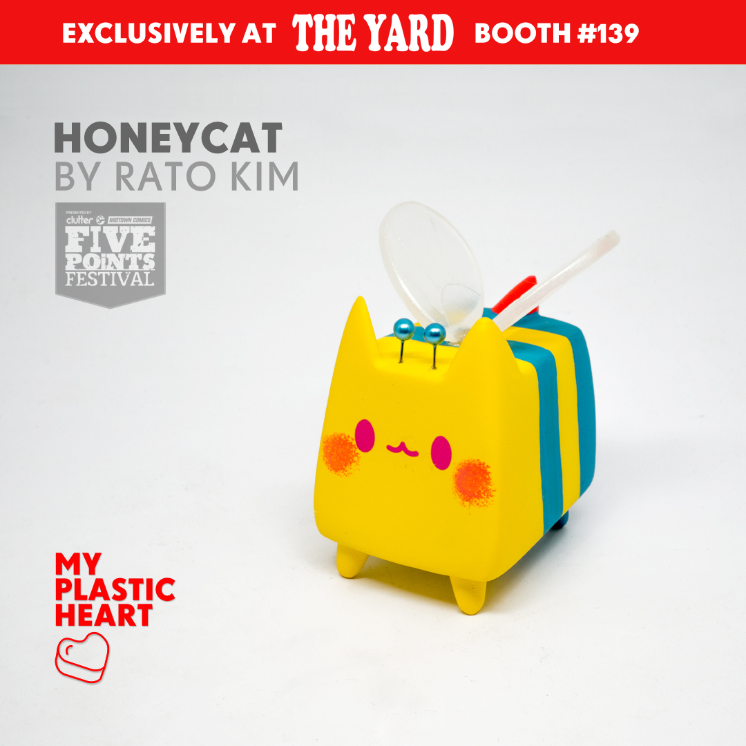 HoneyCat by Rato Kim for Five Points Fest