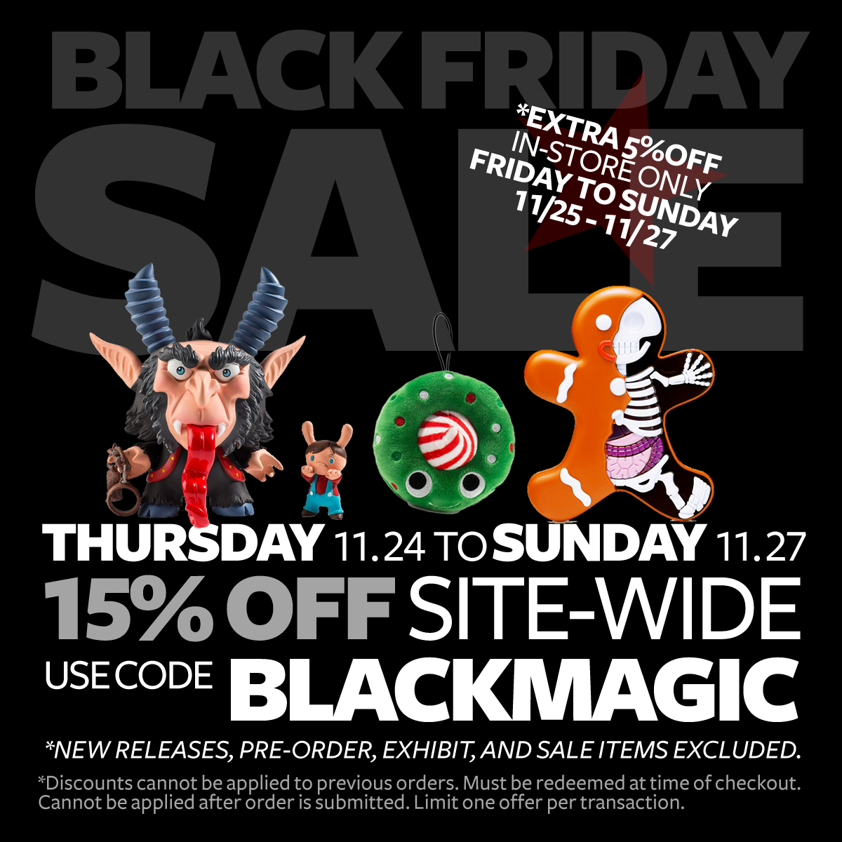 Black Friday Sale 2017!