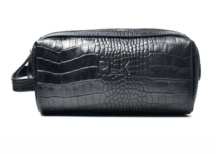 COSMETIC PLIK Black Croc Print