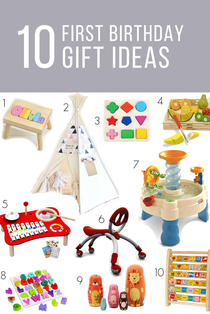 it's a one-derful life: first birthday gift ideas - my plot of sunshine