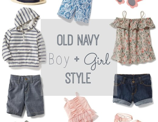 old navy boy and girl style