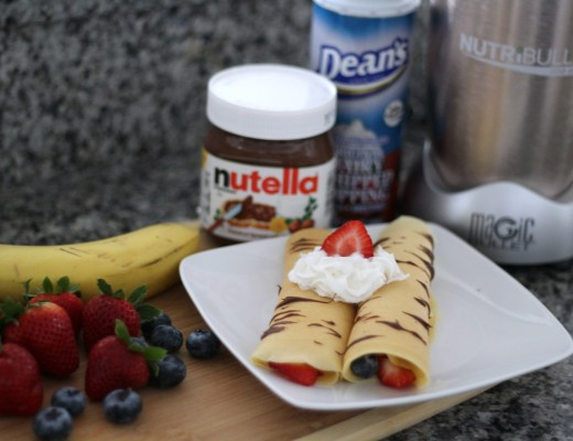 crepes with nurtribullet