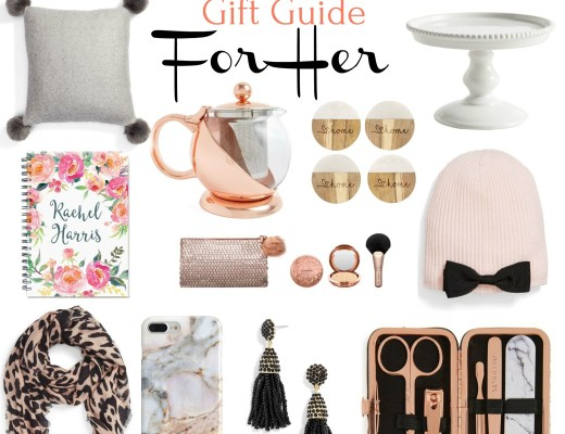 budget-friendly gift guide for her