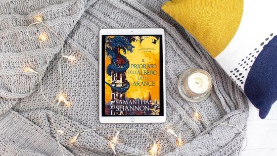 Fantasy, Il priorato dell'albero delle arance di Samantha Shannon, Io Leggo, lettura, mondadori, My Po Blog, Oscar Draghi, Oscar Vault, Recensione Il priorato dell'albero delle arance di Samantha Shannon, Romanzo Fantasy