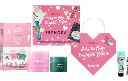 Set To all the boys I've loved before: Sephora x Netflix, Sephora, Benefit, Beauty, TRucco, skincare,