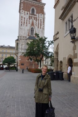 Laurie Koloski in Kraków