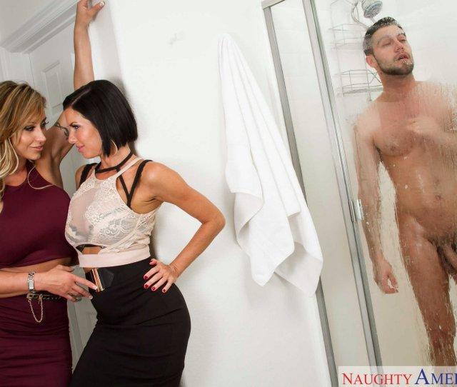 Hot Milfs Eva Notty And Veronica Avluv Fucking A Lucky Guy