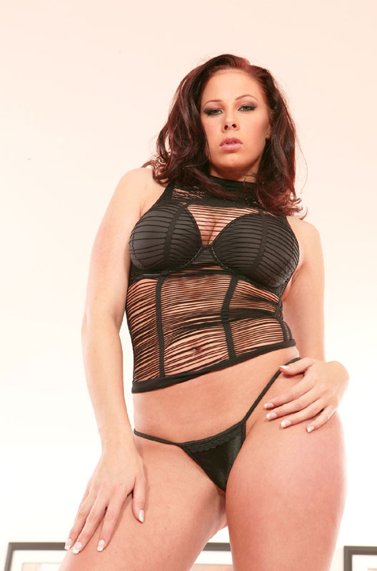 Busty Young Redhead Gianna Michaels Shows Off Her Body Porn