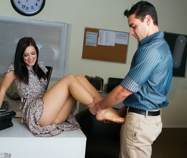 Kimberly Kane Having Sex With Handsome Man In The Office