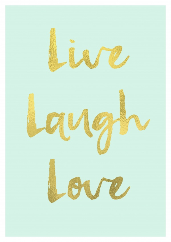 Live Laugh Love Wallpaper
