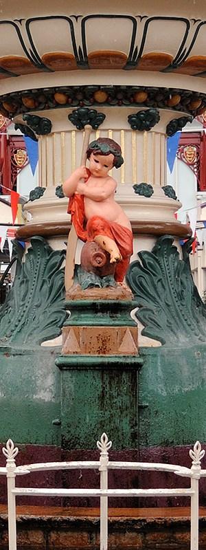 Urlaubsfoto Detail Brunnen
