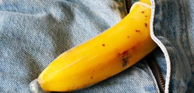 Homemade banana dildo share your