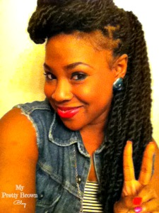 Protective Styles (Senegalese Twists) - My Pretty Brown Blog