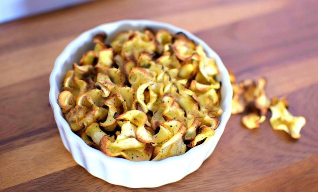 Parsnip Chips - My Pretty Brown Fit