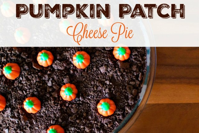 This Pumpkin Patch Cheese Pie makes the perfect fall dessert for home, school, festivals, and parties! | My Pretty Brown Fit