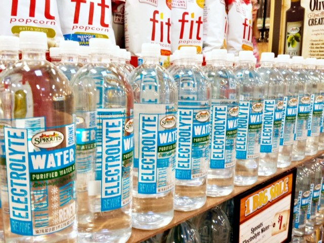 Sprouts Electrolyte Water