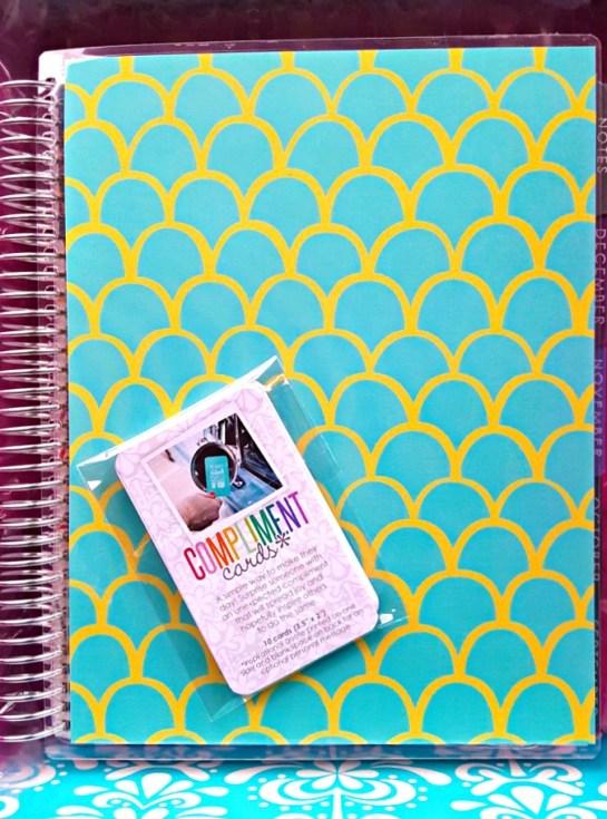 Erin Condren Life Planner - Compliment Cards