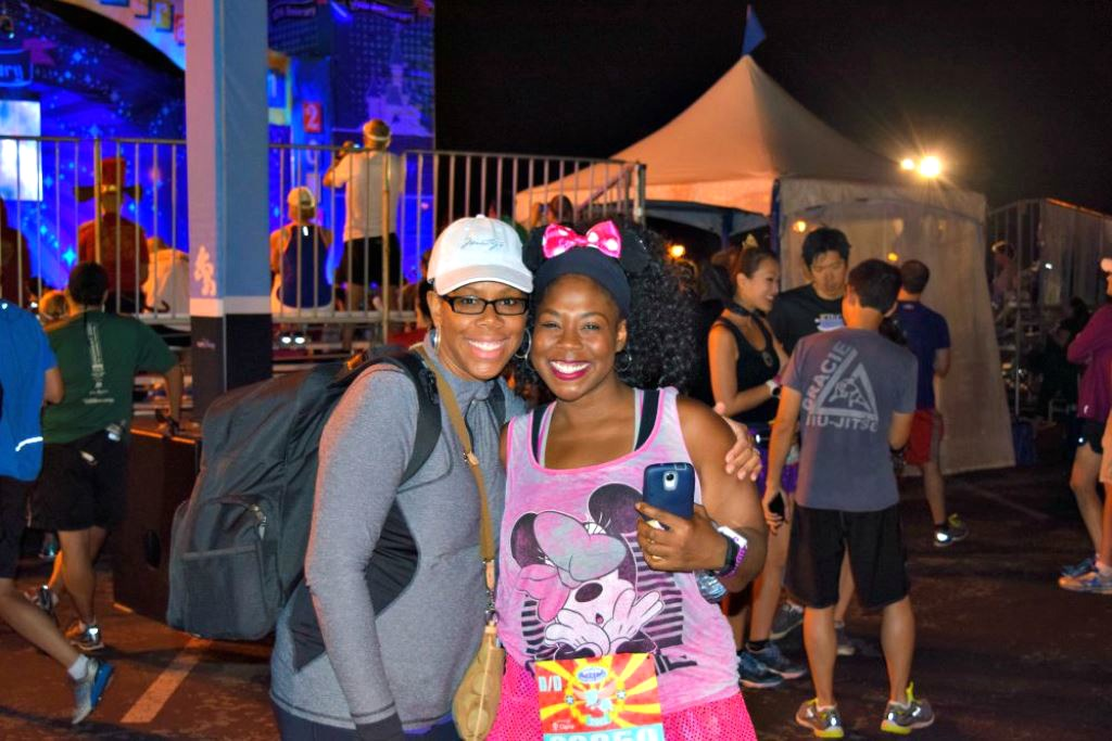 2015 Disneyland 10K - My Pretty Brown Fit