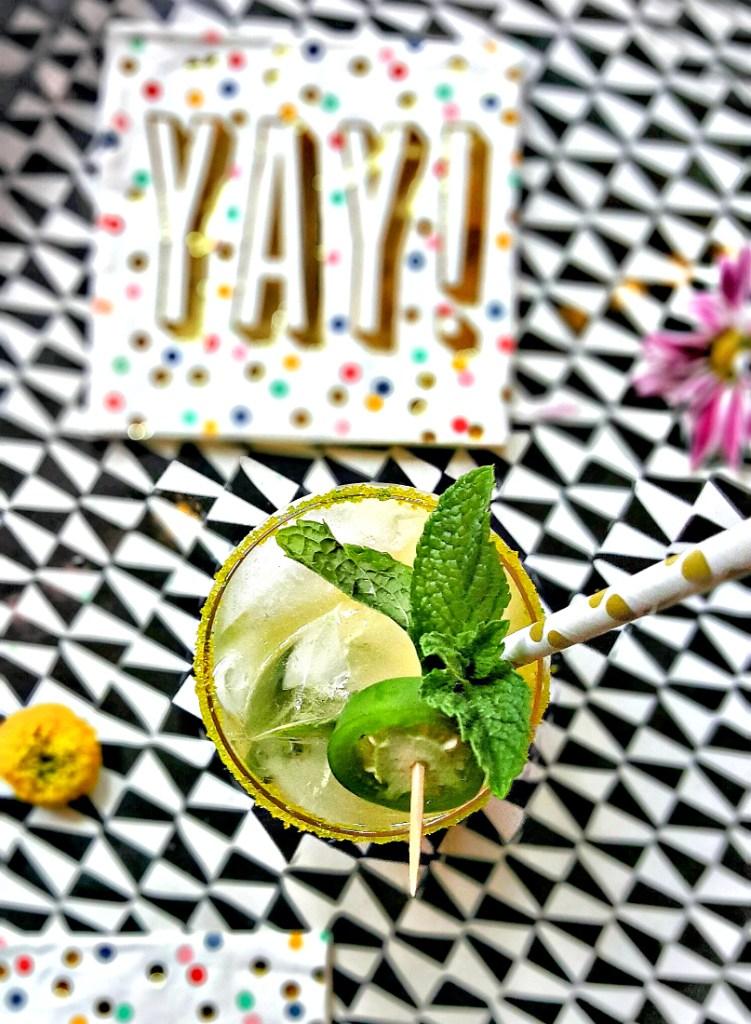 Honey Jalapeño Mint Pineapple Spritzer