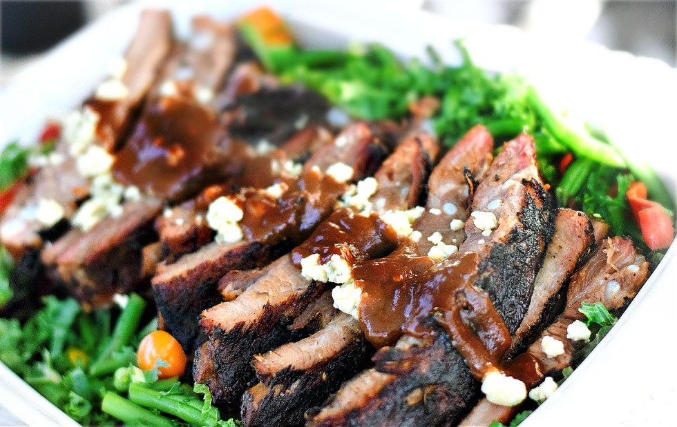 BBQ Ribs with Hickory BBQ Sauce - My Pretty Brown Eats