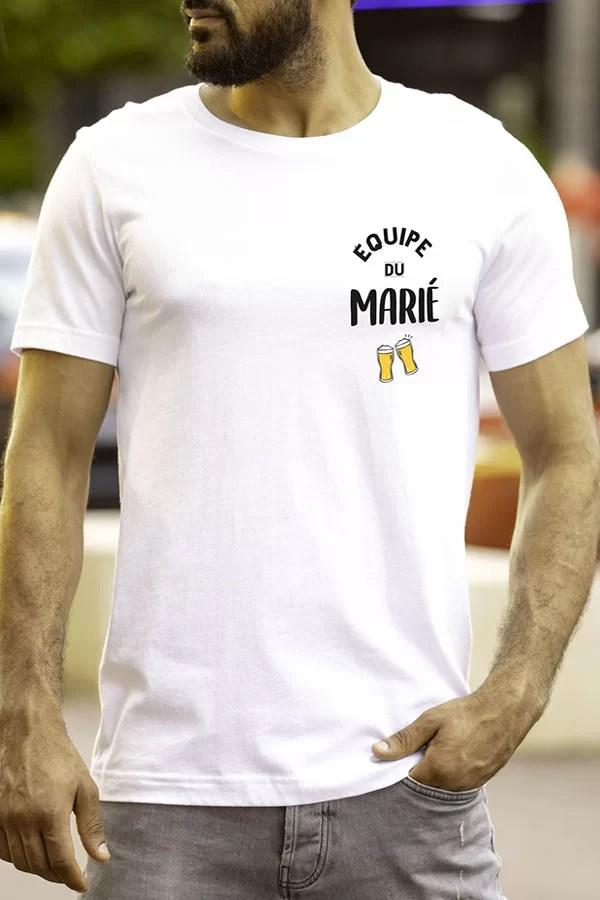 T-Shirt homme équipe du Marié