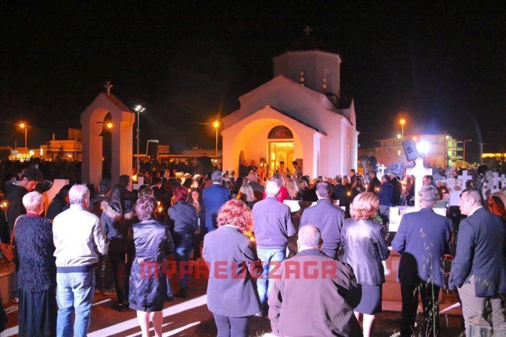 Πρέβεζα: Αναστάσιμη Λειτουργία και φέτος στο Κοιμητήριο Πρέβεζας