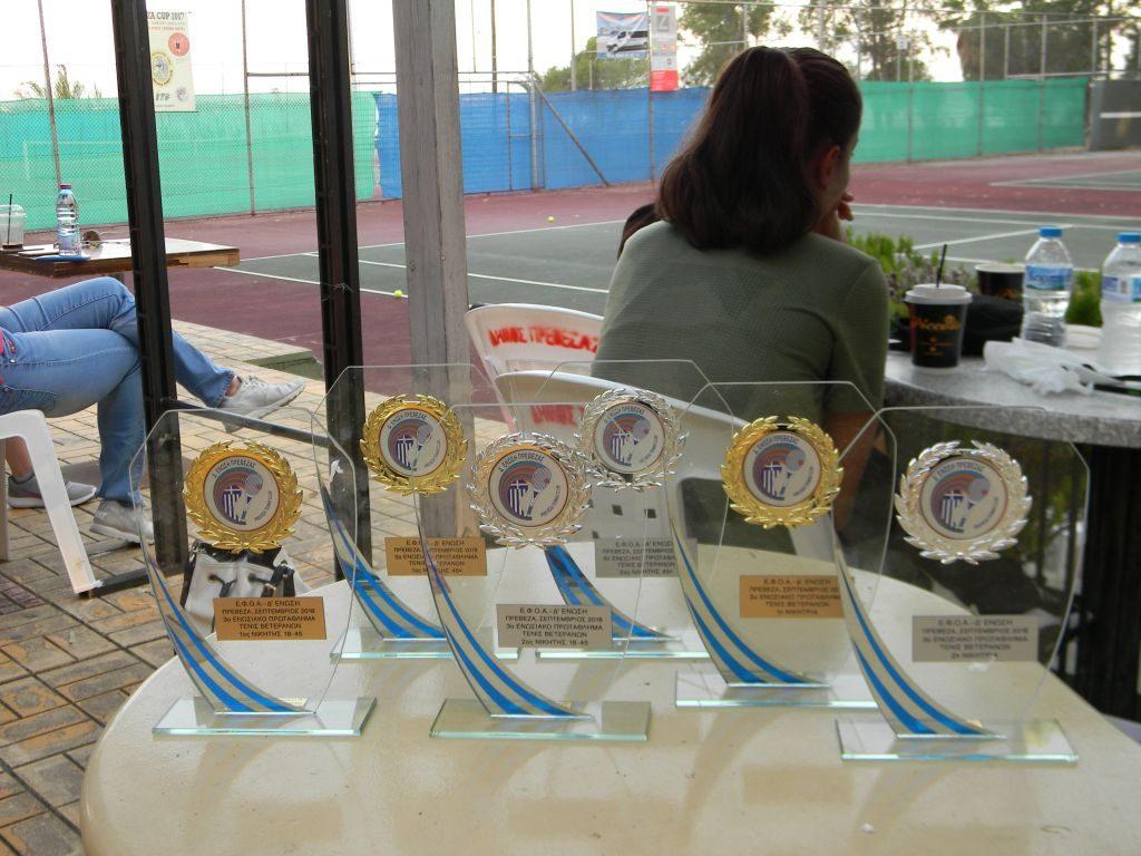 Πρέβεζα: Με επιτυχία ολοκληρώθηκε το 3ο Ενωσιακό Πρωτάθλημα Τένις στην Πρέβεζα