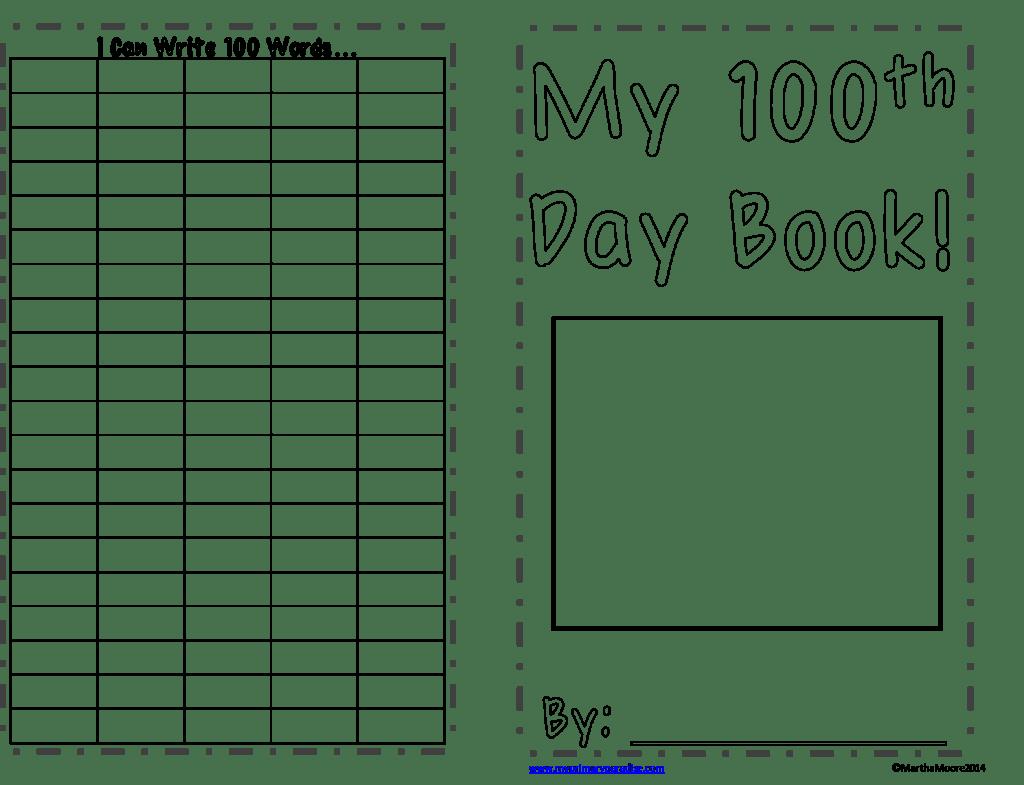 100th Day Fun With 2 Freebies