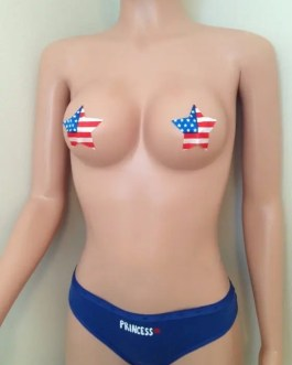 Womens Sexy Assorted Star Shaped Pasties Adhesive Stripper Nipple Covers