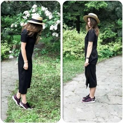 Dress Maxi TShirt Style