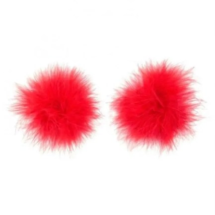 Marabou Feather Nipple Cover Pasties