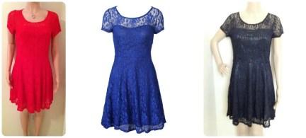 Pretty Lace Party Dress