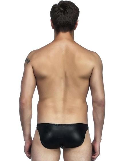 Leather Look Bikini Underwear
