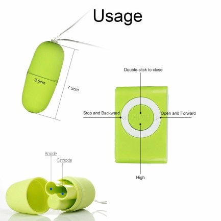 Vibrating Egg With Remote Control