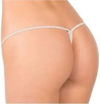 cotton mesh mini g-string thong