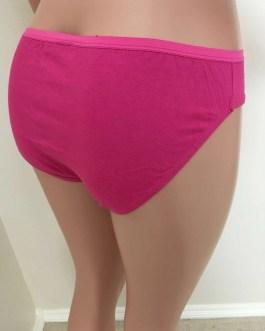 Colorful 100% Cotton Ladies Briefs Panties