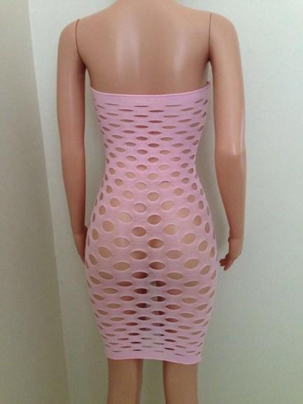 Sexy cutout tube dress