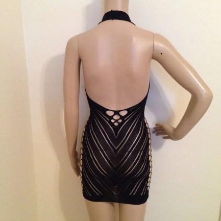 Mesh Lace Pullover Chemise Lingerie Dress