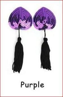 Sequin Pasties with Tassels