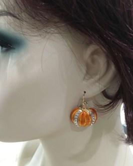 Halloween Costume Earrings Pumpkin, Spider, or Skeleton – Your Choice